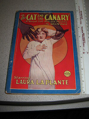 Cat Canary Universal monster horror 1927 photoplay pulp magazine Laura LaPlante