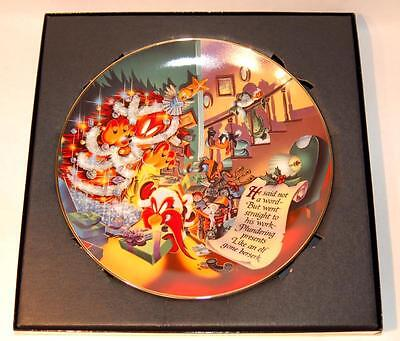 Warner Bros. Gallery Collectors Plate - The Great Christmas Caper - #'d /2500