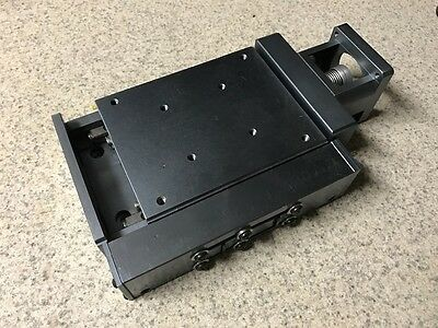 Linear Positioner Z Axis High Precision Motion Slide with Limit Switches Output