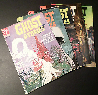 GHOST STORIES  -  DELL COMICS  -  FIVE ISSUES including # 1