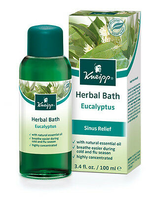 Kneipp Herbal Bath Eucalyptus (100ml) (3.4 fl. oz.)