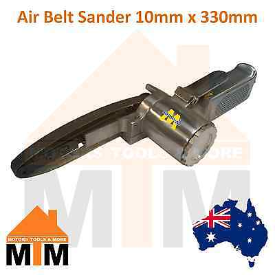 Air Belt Sander 10mm 330mm Sanding Buffing Pneumatic Tool Professional Workshop