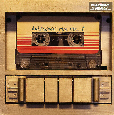 GUARDIANS OF THE GALAXY Soundtrack AWESOME MIX LP Vinyl BRAND NEW