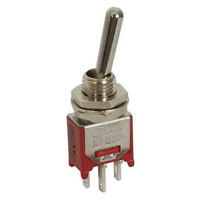 Sub-Miniature Toggle Switch Solder Tag SPDT 28VDC 3A 250VAC 1A ST0300
