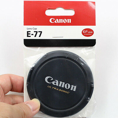 New 77mm Snap On Front Lens Cap Cover for Canon 77mm Lens Ultrasonic