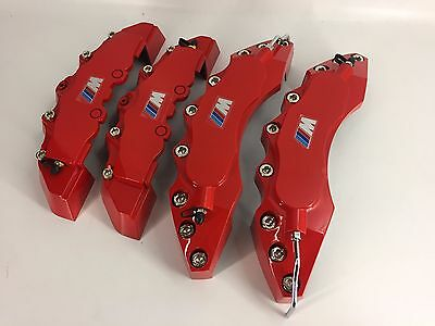 BMW M BRAKE CALIPER COVER 4PCS RED E90 E91 E60 E39 E46 E70 E92 and other model