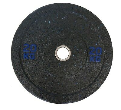 Olympic Bumper Plates Solid Rubber 20 Kg Sold In Pairs