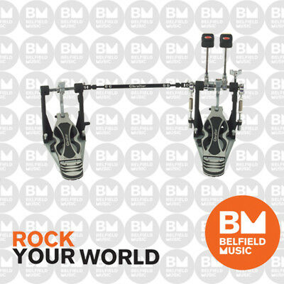 Gibraltar 9611DD-DB Double Kick Bass Drum Pedal Intruder Direct Drive GI9611DDDB