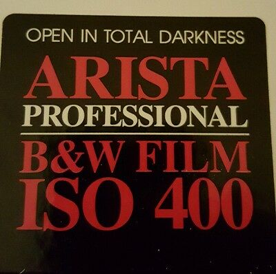 Arista Professional B&W black and white photo paper 8x10