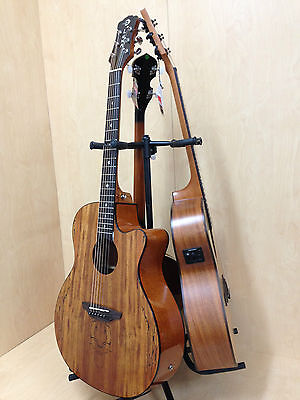 Foldable,Adjustable, Metal Structure Triple (3 in 1) Stand-Guitars,Bass,Banjo