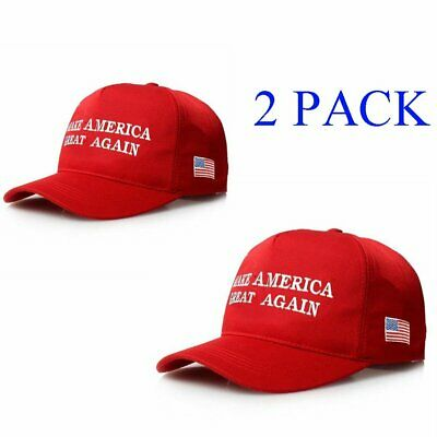 2016 Donald Trump Make America Great Again Usa Flag Republican Hat Embroidered