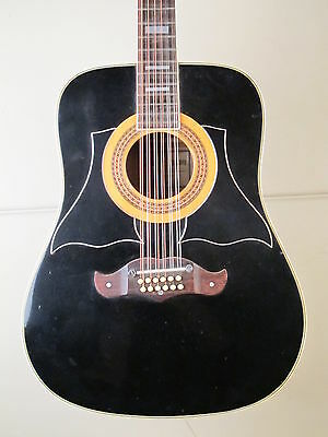 ♫ IBANEZ CONCORD 752 12 VINTAGE JAPAN Dreadnought Westerngitarre