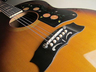 ♫ 70's  ARIA JUMBO VINTAGE LAWSUIT JAPAN Dreadnought Westerngitarre