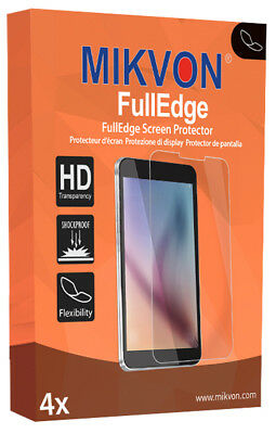 4x Mikvon FullEdge screen protector for Fitbit Alta foil