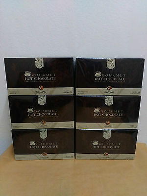 6 Boxes Organo Gold Hot Chocolate With Ganoderma Lucidum - 10/2018 !!!