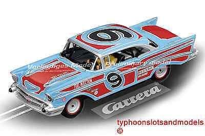 CA27526 Carrera Evolution Chevrolet Bel Air 57 - Oval Racer - New & Boxed