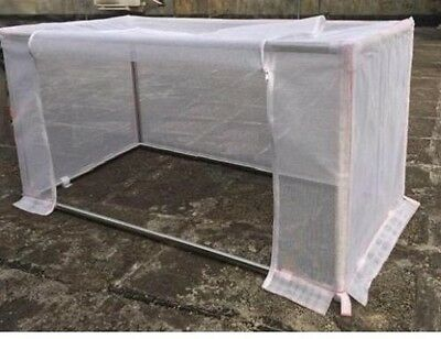 """Agfabric 45""""-W x 45""""-Lx 39""""-H Garden Insect Barrier Mosquito netting with Frame"""