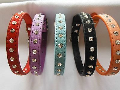 Diamante Dog Collar