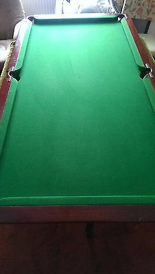 Snooker Table - Slate Bed