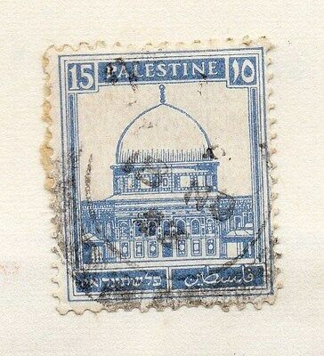 Palestine 1980s Early Issue Fine Used 15m. 076042