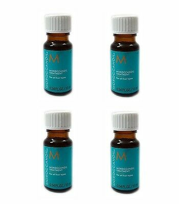 4 x Moroccanoil Haaroil Treatment alle Haartypen 10ml (49,88 EUR/100ml)
