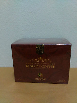 1 Box Organo Gold King Of Coffee With Ganoderma Lucidum - 10/2018 !!!