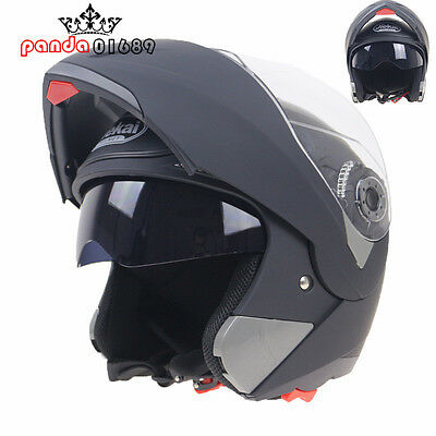 NEW FULL FACE Modular Flip Up Front Helmet Suit Road Bike Motorcycle