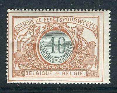 BELGIUM;  1902 early Railway Parcel Post issue Mint MNH 10c. value
