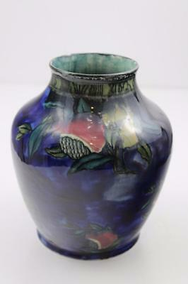 Rubens Ware by Hancock & Sons Pomegranate Pattern Vase c1915 Hand Painted ​