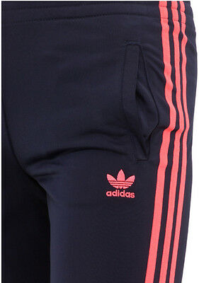 Size 4/5 Years Old - Adidas Originals J Firebird Track Pants  - Navy