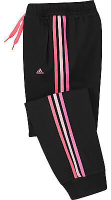 Size 5/6 Years Old - Adidas Performance Essential Cuffed Jog Pants - Black