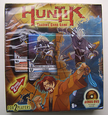Huntik Trading Card Game - For Two Players With Bonus Dvd Episode -- New Boxed