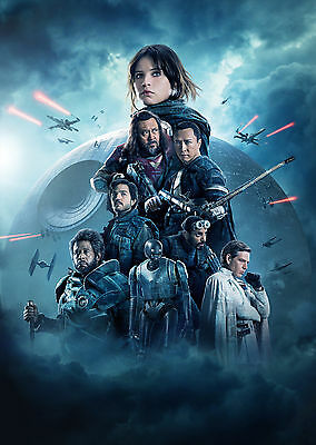 Rogue One: A Star Wars Story (2016) V4 - A1/A2 POSTER *BUY ANY 2 AND GET 1 FREE*