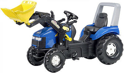 New Ride-on Rolly Toys New Holland Extra Large Xtrac Pedal Tractor Age 3-10yrs