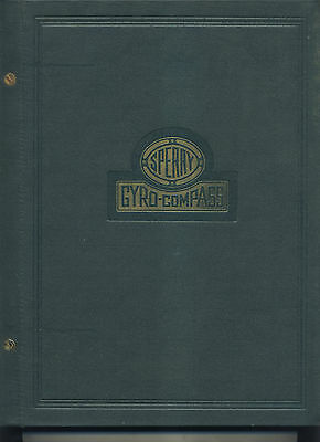 1943 Sperry Gyro-Compass Informational And Parts List Hardback Book