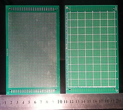 Single-Side Prototype  PCB Stripboard Universal Printed Circuit Board 9x15 cm