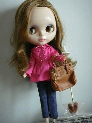 """12"""" Neo Blythe doll with outfits (Factory Blythe nude doll)- Red-P-1#"""