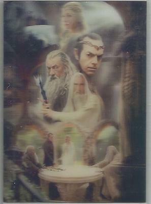 "The Hobbit An Unexpected Journey - ""Lenticular Poster"" Chase Card KA04"