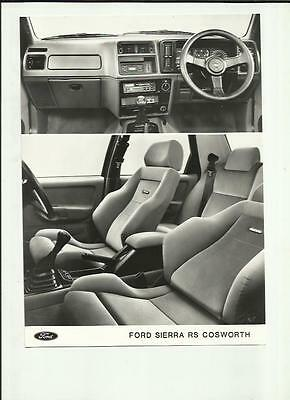 Ford Sierra Sapphire Rs Cosworth Press Photo 'brochure Related'