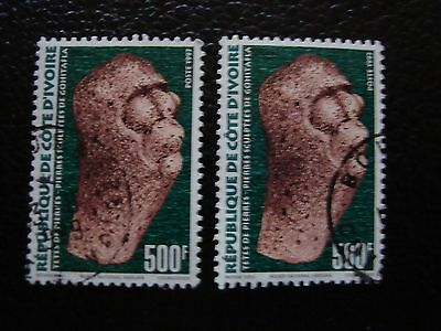 COTE D IVOIRE - timbre yvert/tellier n° 988 x2 obl (A28) stamp (A)