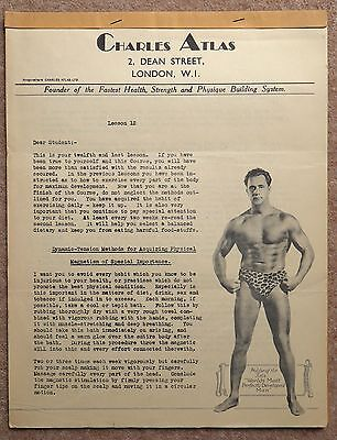 Health and Strength by Charles Atlas in 12 Parts + Exercises for Daily Practice