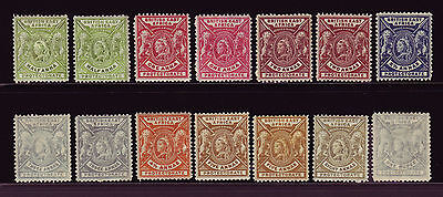 British East Africa. Mounted Mint Selection.