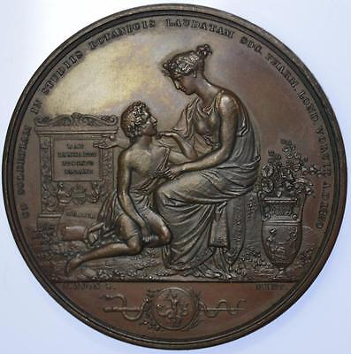 England - 1830 Pharmaceutical Society Linneaus Specimen prize medal by Wyon