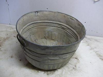 Rough ole 1/2 Bushel Grain Tub for  Flower Pot Garden Planter