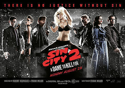 Sin City: A Dame to die for (2014) V8 - A1/A2 POSTER *BUY ANY 2 AND GET 1 FREE*
