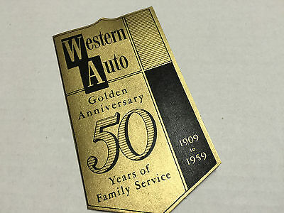 Western Auto 1909-1959 Golden 50th Anniversary Sewing Kit NEW + FREE US SHIP