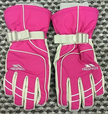 Ladies Trespass Vizza Ski Snowboard Winter Outdoor Gloves Size Medium