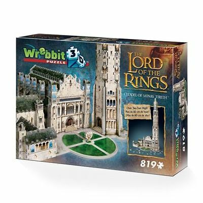 Wrebbit Lord of the Rings Citadel of Minas Tirith 3D Jigsaw Puzzle NEW