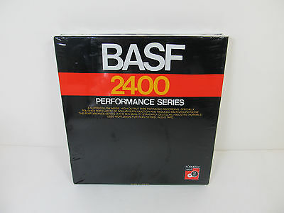 BASF 2400 Performance Series Audio Tape 75 mil x 2400 ft Brand new and sealed!