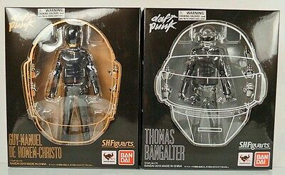 Daft Punk S.h. Figuarts Action Figures New In Box